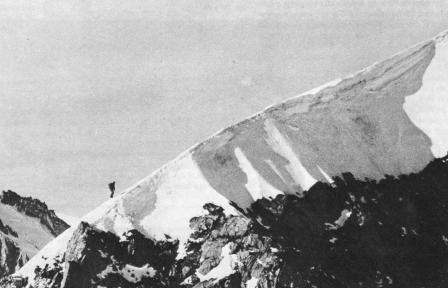 Ivano Ghirardini, Le Linceul, face nord des grandes jorasses, 2
