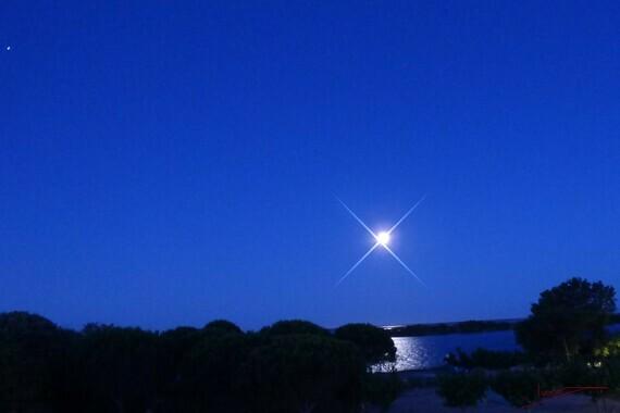 (c)Ivano Ghirardini-P1000942-pleine lune 6 juin 2020 5h 45 Archange MICHAEL MIKAEL 13230 Port Saint