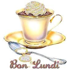 bon lundi -café crème