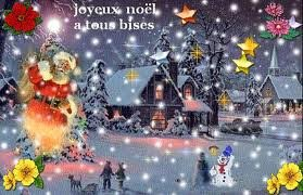 joyeux Noël bisous
