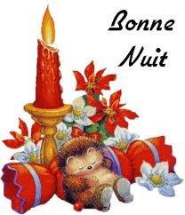 bonne nuit - fêtes de fin d'année
