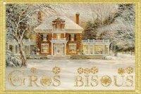 bisous image de Noël