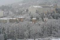 Fac des sciences sous la neige