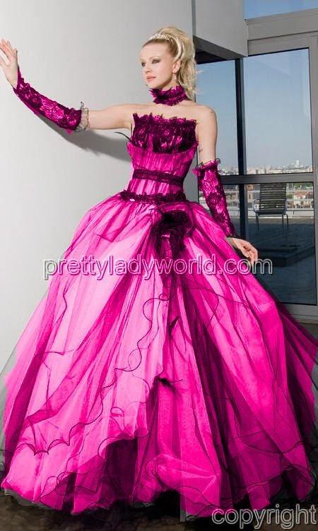 robe temoin mariage fushia la mode des robes de france. Black Bedroom Furniture Sets. Home Design Ideas