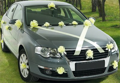 dco voiture - Decoration Voiture Cortege Mariage