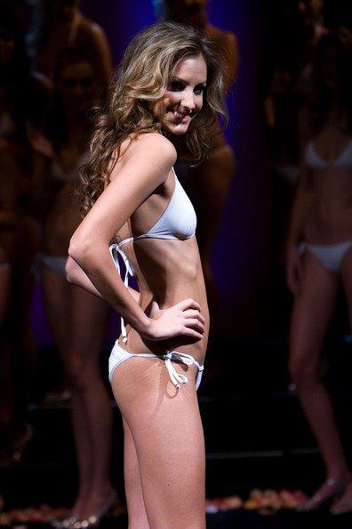Miss Australie se présente à Miss Univers 2008