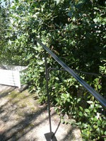 rampe d'escalier en acier