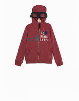 IKKS SWEAT ROUGE 4 ANS