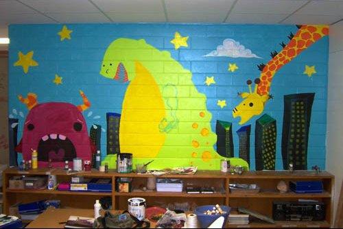 a art wall