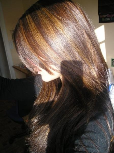 balayage sur cheveux ch tains fonc s coiffure et coloration forum beaut. Black Bedroom Furniture Sets. Home Design Ideas