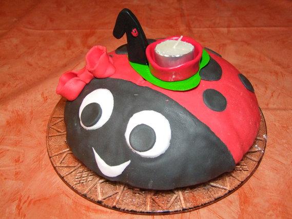 le gâteau et le bougeoir