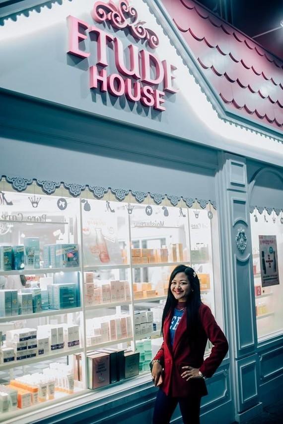 Shula Rajaonah etude house marque coréenne de cosmétique