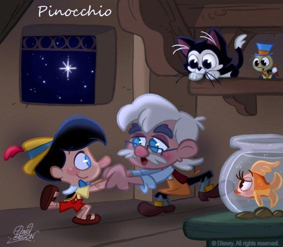 Pinocchio chibis disney un jour sans fin photos - Poisson rouge pinocchio ...