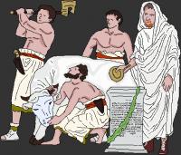 Taureau sacrifice