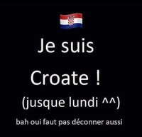 je suis croate