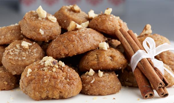 Melomakarona (Macarons grecs de Noël au miel)