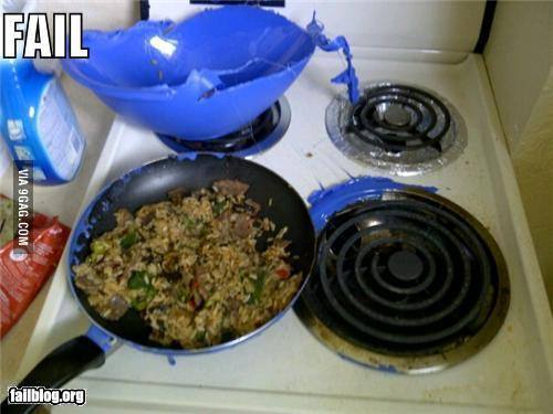Cuisine Etudiante : FAIL
