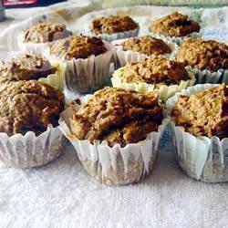 Muffins Noix Potiron