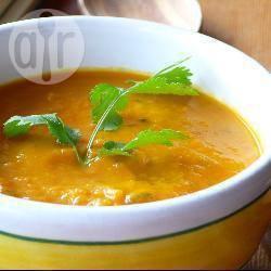 Soupe Potiron Lait de Coco