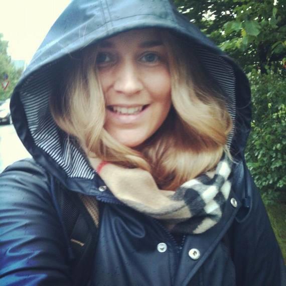 Rando sous la pluie.