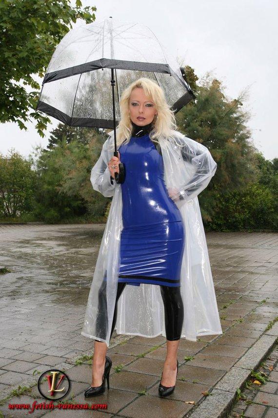 Lady Vanessa Cir 233 S Et Parapluies Vinyl64 Photos