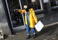 Yellow fashion.