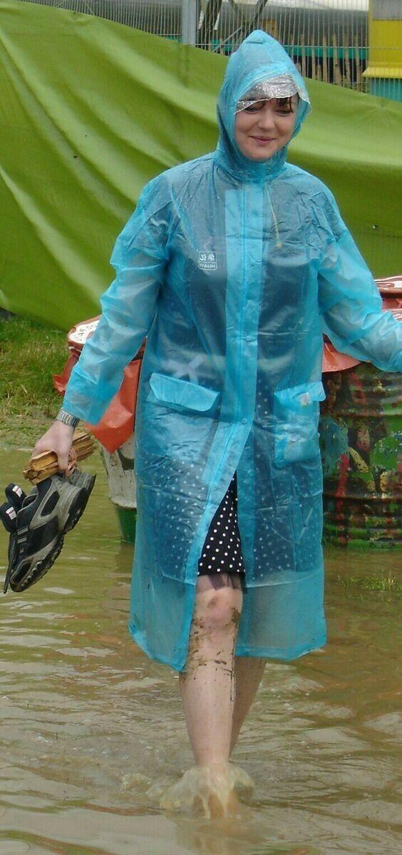 Festival inondé.