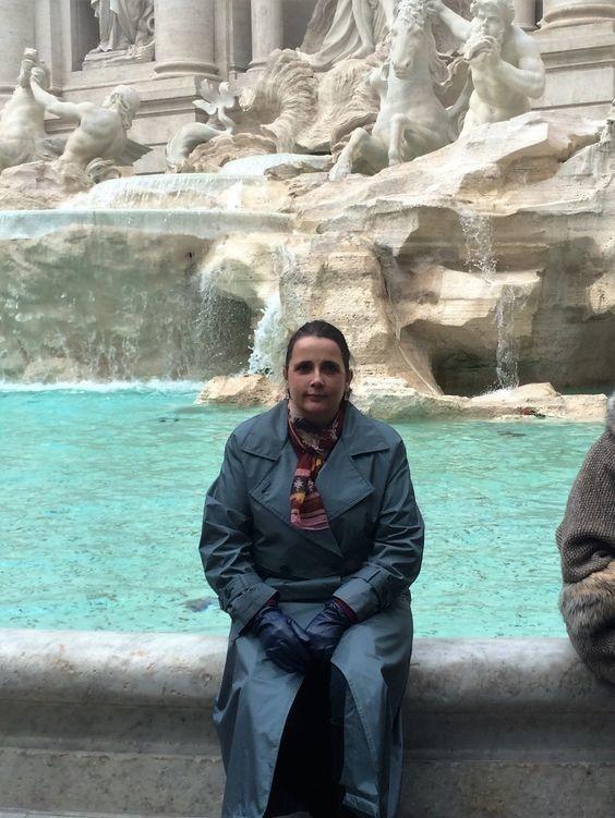 Fontaine de Trévi.