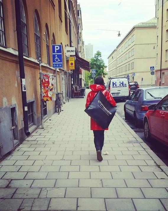"""Stutterheim """"Stockholm Opal Red""""."""