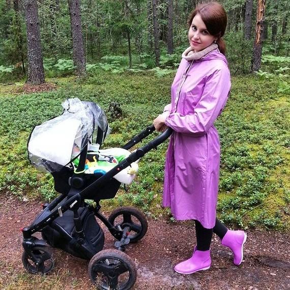 Promenade de bébé.