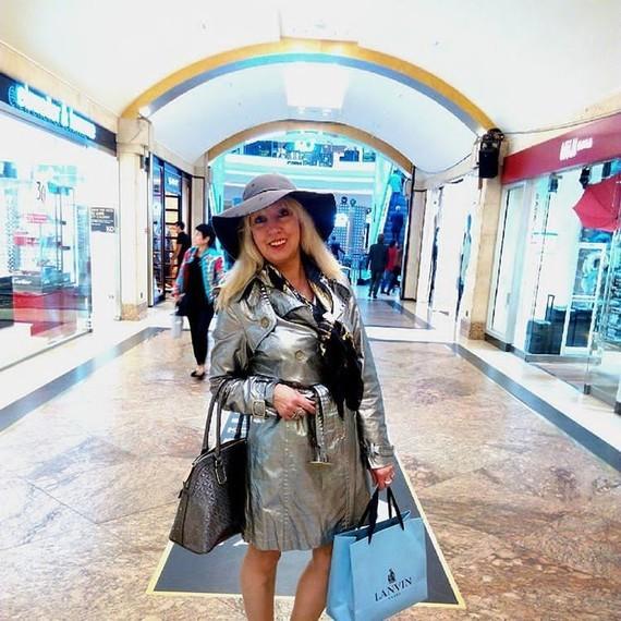 Silver shopping.