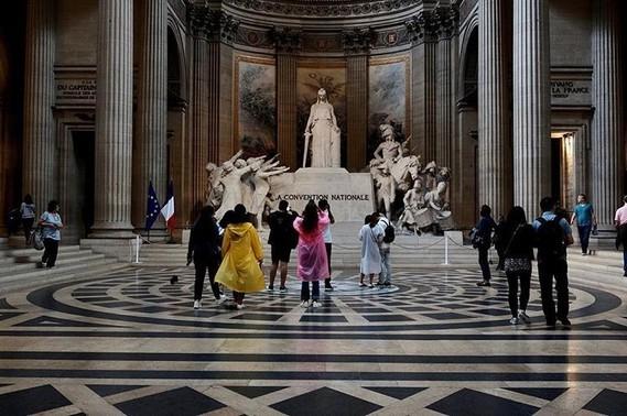 Visite du Panthéon.