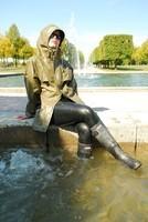 Statue de fontaine.