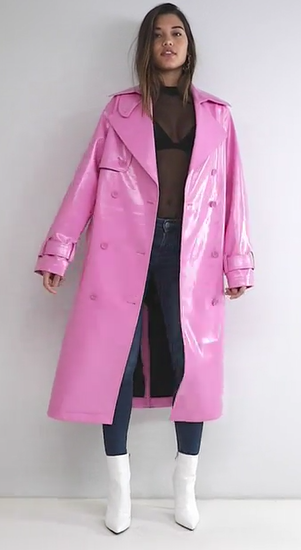 Trench Asos.