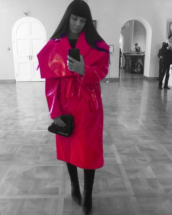Museum selfie.