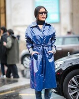 Bleu de Fashion Week.