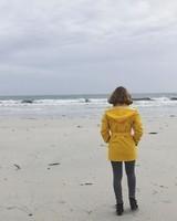 Face à la mer.