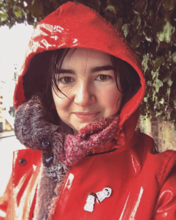 La joie d'être sous la pluie.
