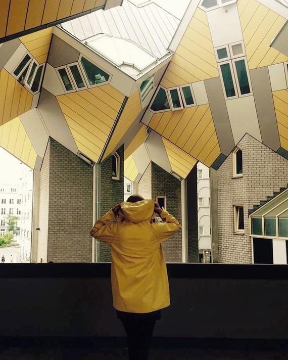 Architecture à Rotterdam.