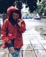 Pluie en ville.