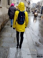 Pluie urbaine.