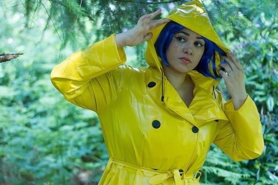 Coraline en cosplay.
