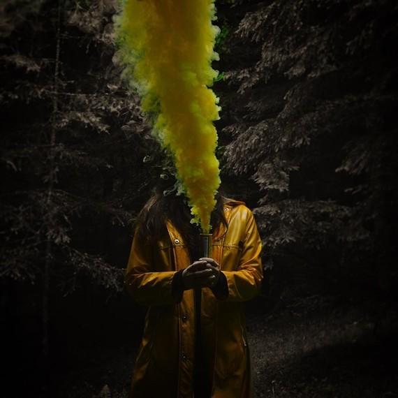 Fumigène.