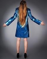 Back blue.