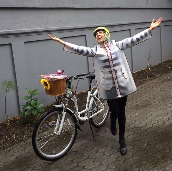 Vive le vélo sous la pluie !