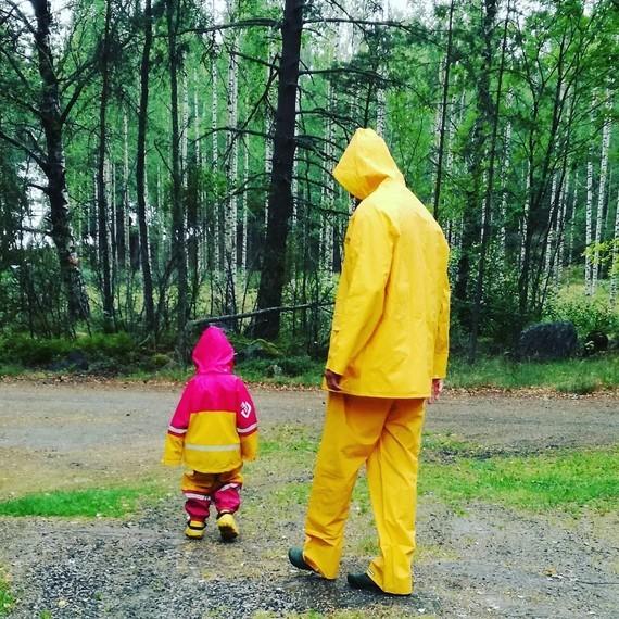 Apprentissage de la pluie.
