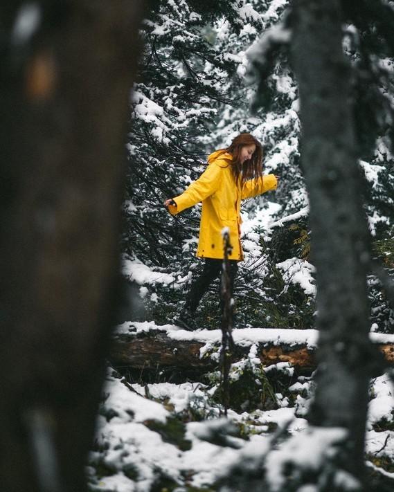 Danse avec la neige.