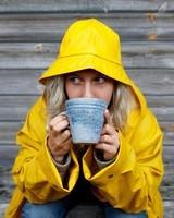 Thé jaune.