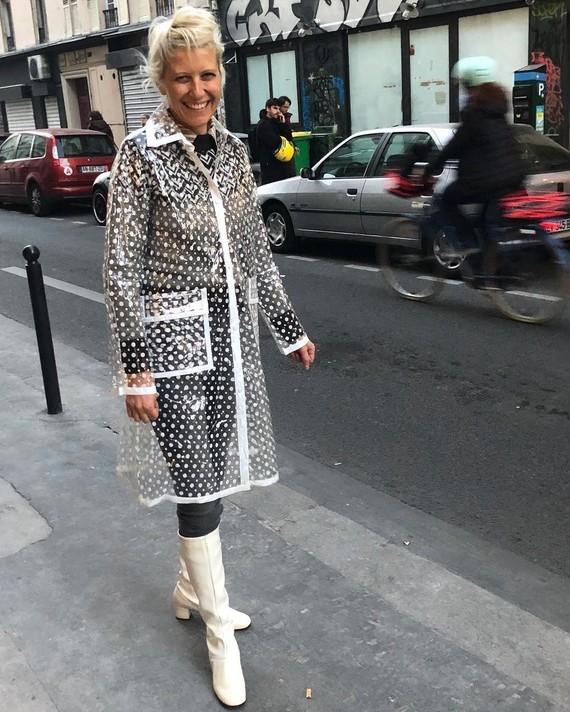 Transparence parisienne.