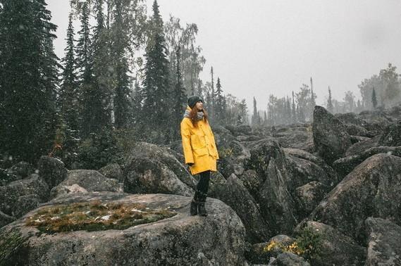 Forêt de pierres.